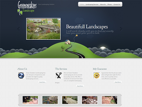 Landscaping Client Site